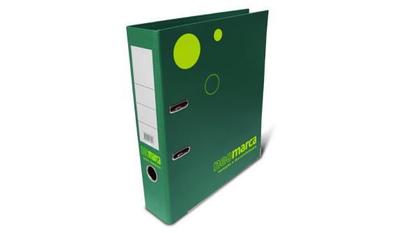 acheter classeur personnalise pvc large vert